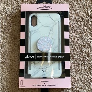 Lumee case iPhone 10 max
